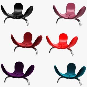 3D edra italia chair