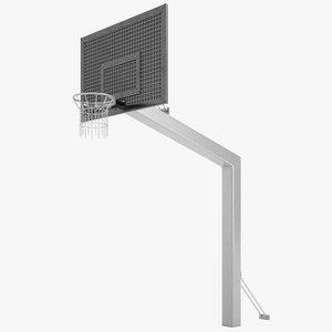 3D streetball basket street