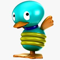 tolo toy bird 3d model