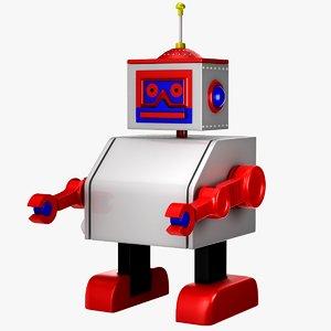 tolo toy robot 3d model