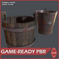 3D western buckets