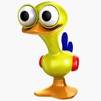 3d tolo toy bird 1 model