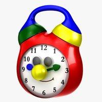 3d model tolo toy clock