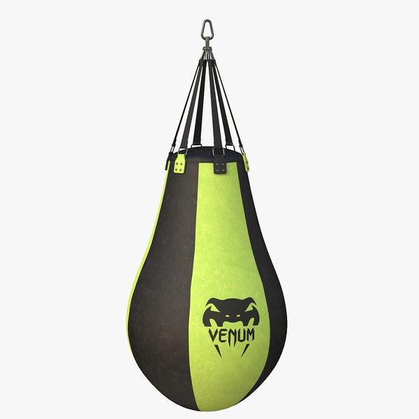 pear boxing bag 3D