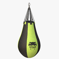 pear boxing bag 3D