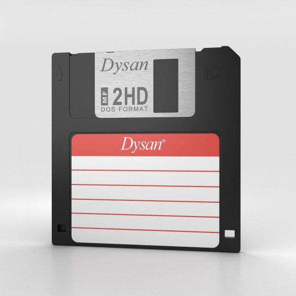 floppy disk 3 3D