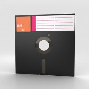 3D floppy disk 8
