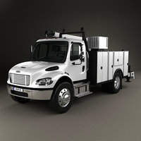 Freightliner M2 106 Utility Truck 2014