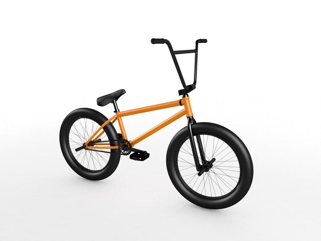 3D bmx bike