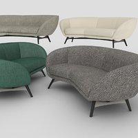 russell sofa minotti model