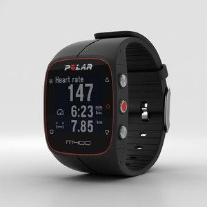 polar m400 3D model