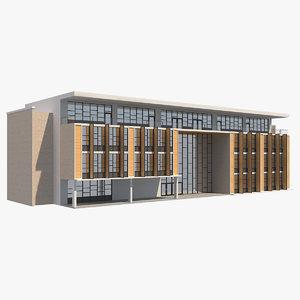 building 9 3D model