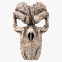 grim reaper mask 3D