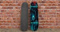 3D model simple skateboard
