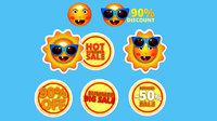 cartoon logo sunglasses summer 3D model