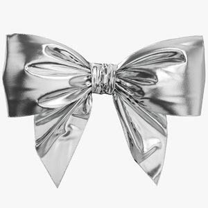 silver bow 3D
