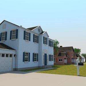 3D neighborhood v-ray