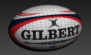 3D gilbert rugby