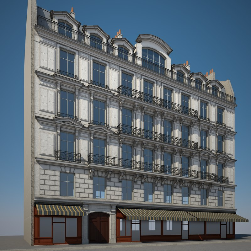 urban building 3D