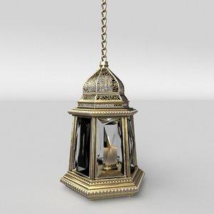 3D arabic lantern