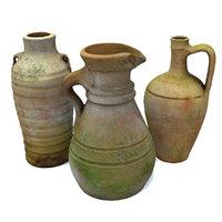 ceramic vase model