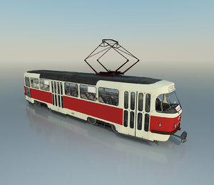tatra t3d t3 tram 3D