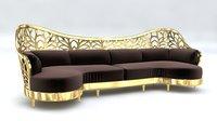 Arabic Sofa Art Deco