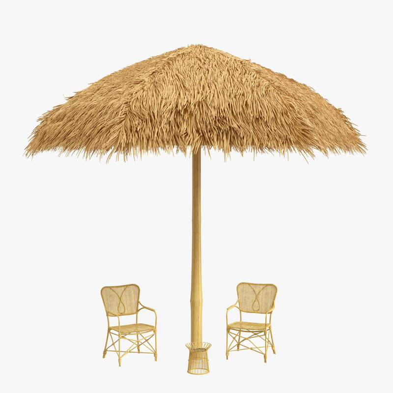 Sunshade Canopy Chairs Beach Sand Model