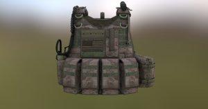 3D tactical vest