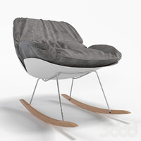 francesco bellini bay rocking chair 3D