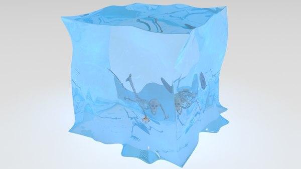 3D gelatinous cube