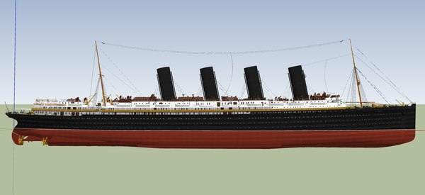 liner ship 3D model