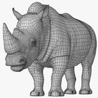 big rhino 3D model