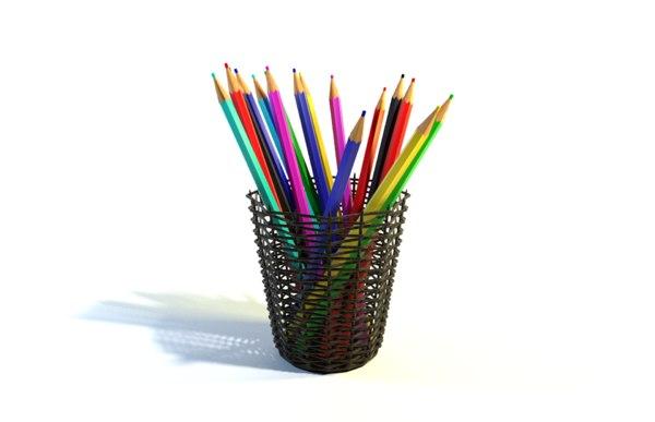 3D pencils