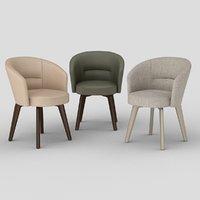 amelie chair armchair 3D model
