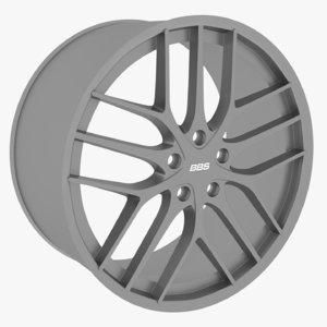 bbs cc-r wheel 3D