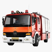 Mercedes Benz Atego Fire Truck