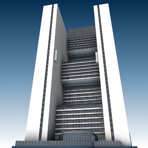 3D marriott marquis building model