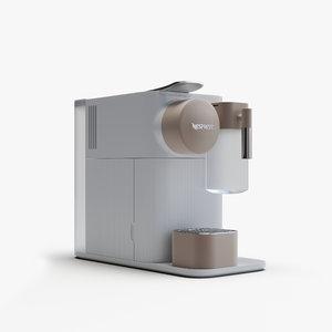 nespresso lattissima 3D