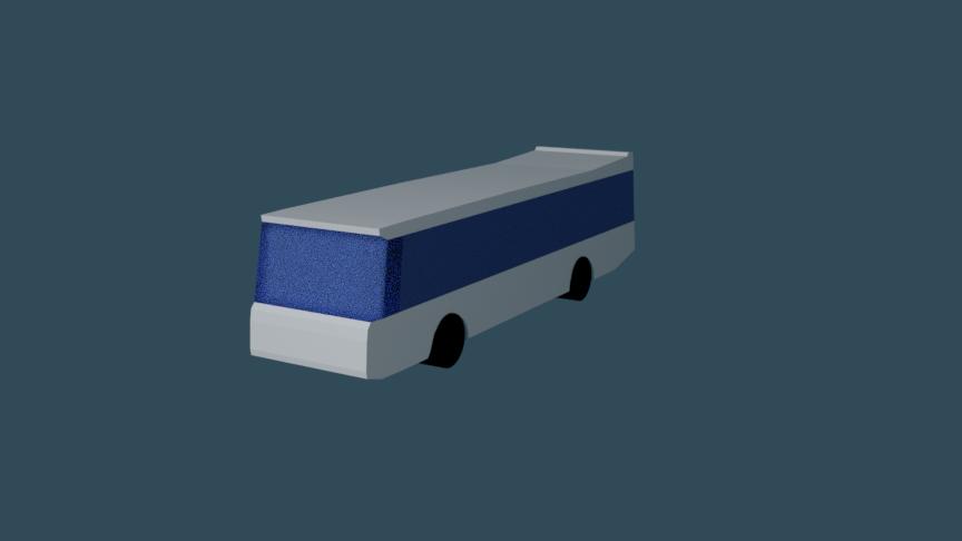 3D simple bus