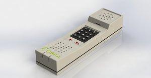 3D phone 90s