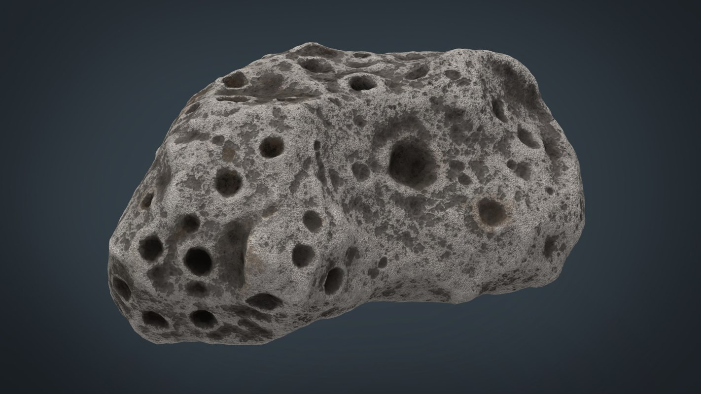 3D asteroid 2