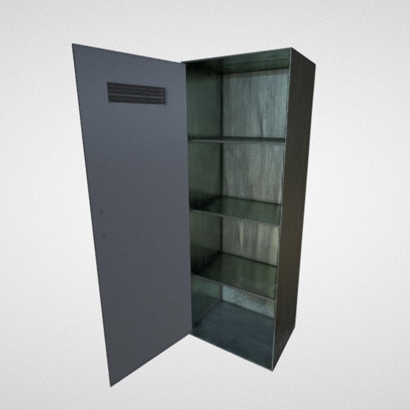 wardrobe industrial model