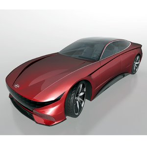 hyundai la fil rouge 3D model