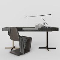 "Minotti Phillips chair and Close ""Writing Desk"