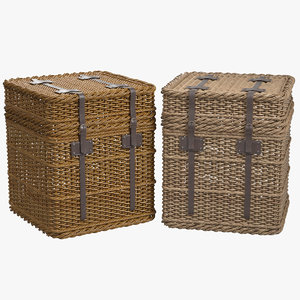wicker baskets model