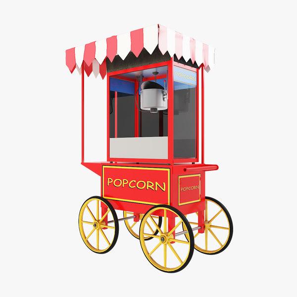 popcorn v1 3D