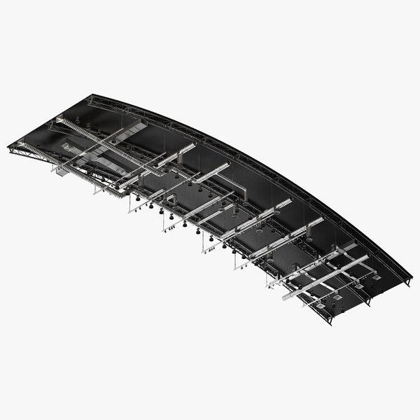 ceiling ventilation 21 3D model