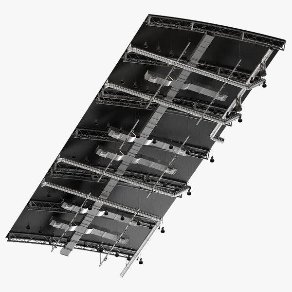 ceiling ventilation 20 3D model