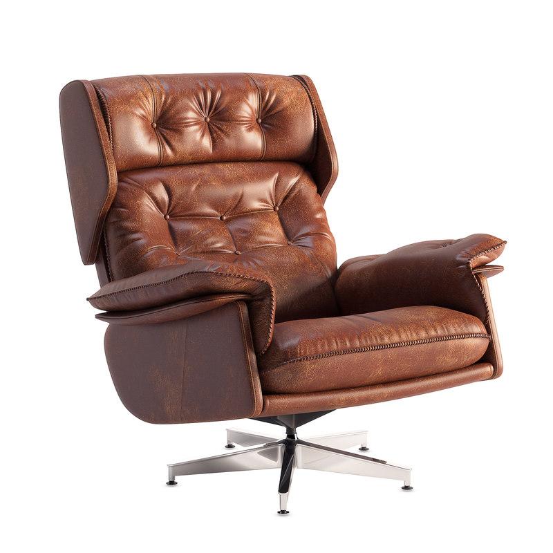 armchair swivel chair university model